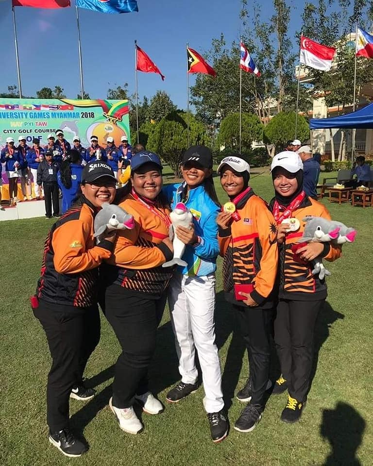 UUMNGA Athlete - Gold Medal Team Woman AUG 2018 Myanmar
